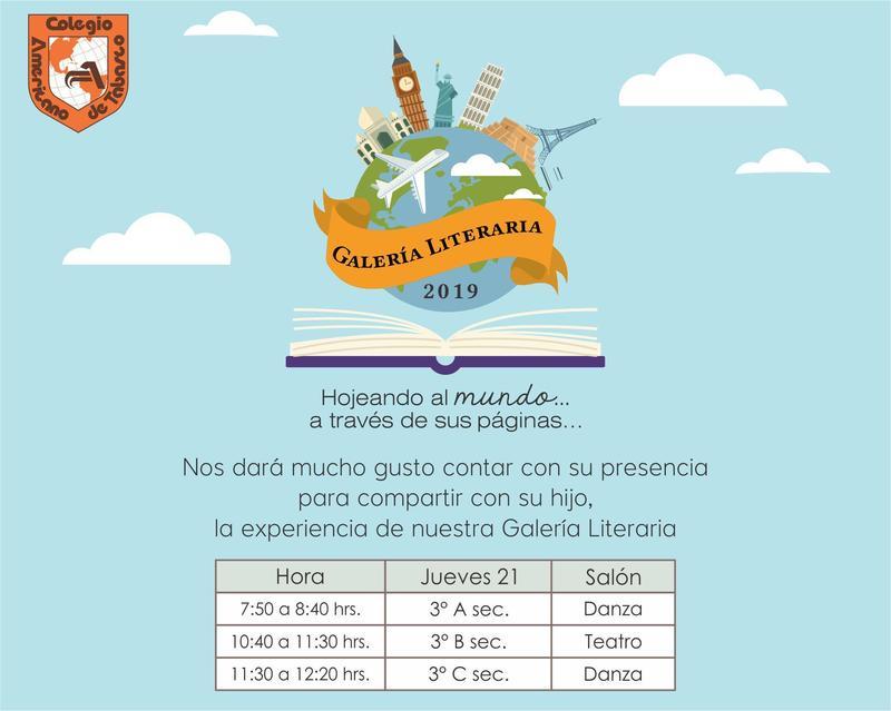 Invitación Galería Literaria 2019 Featured Photo