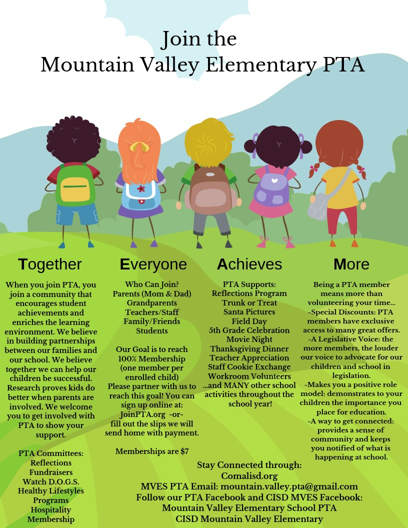 Join MVES PTA