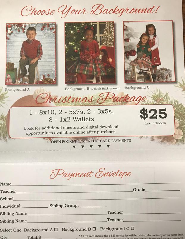 Picture order form flyer