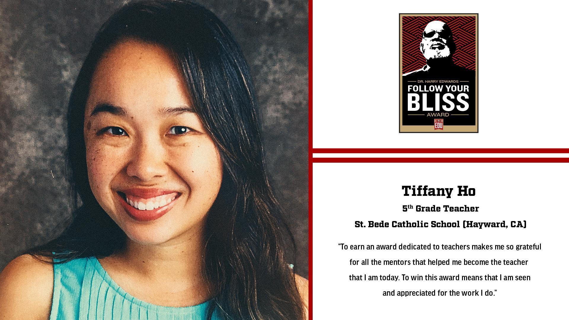 Mrs. Chen - Follow Your Bliss Award Winner