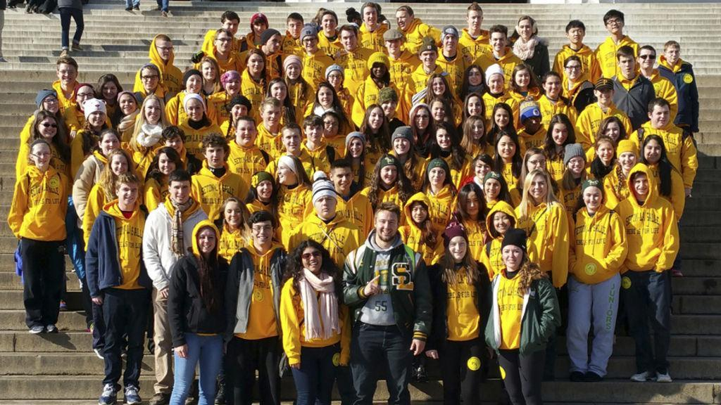 The Rebels for Life attend the March for Life in Washington, D.C.