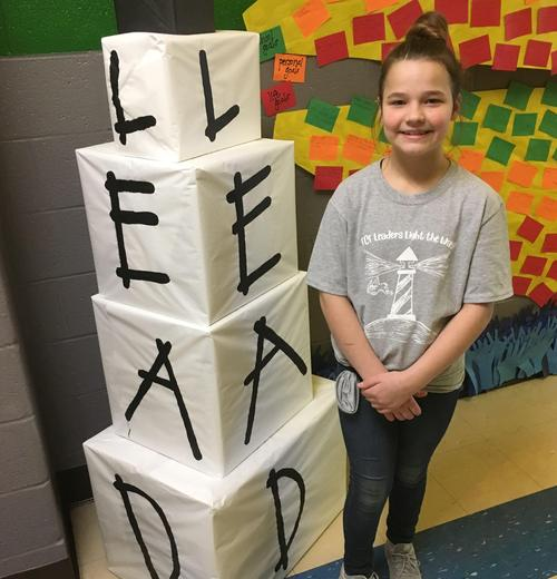 ECES was named a Leader in Me Lighthouse School.
