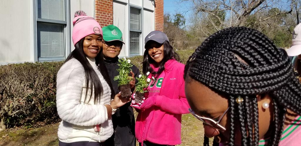 Community Service from AKA IOTA KAPPA Chapter