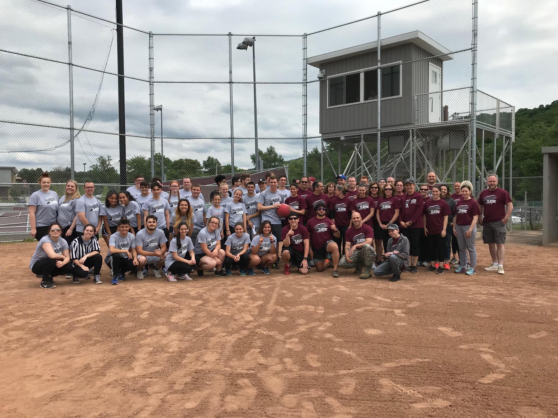 Students v. Staff Kickball Classic 2018