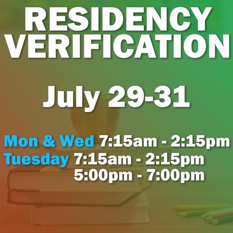 residency dates