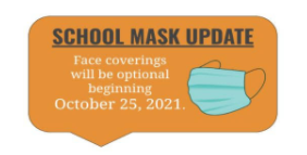 Attention Colt Families:  Optional Face Covering Beginning October 25th, 2021 Featured Photo