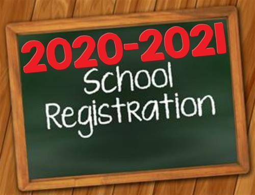 school registration photo
