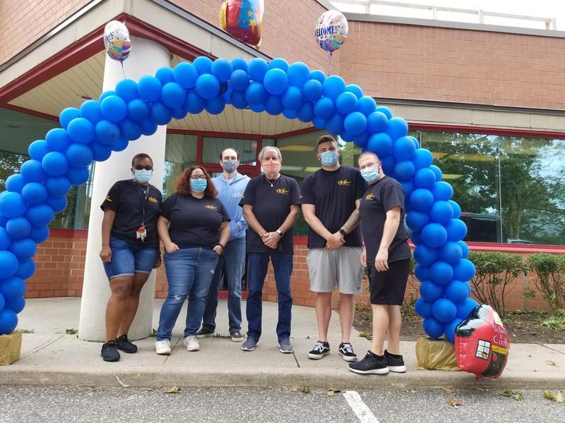 DDI Staff at reopening