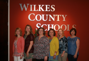 WCS Digital Learning Facilitators and the Chief Technology Officer, Julie Triplett
