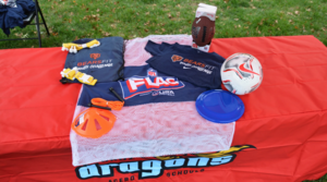Chicago Bears P.E. Kits at Cruz K-12