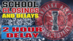 2-hour delay poster