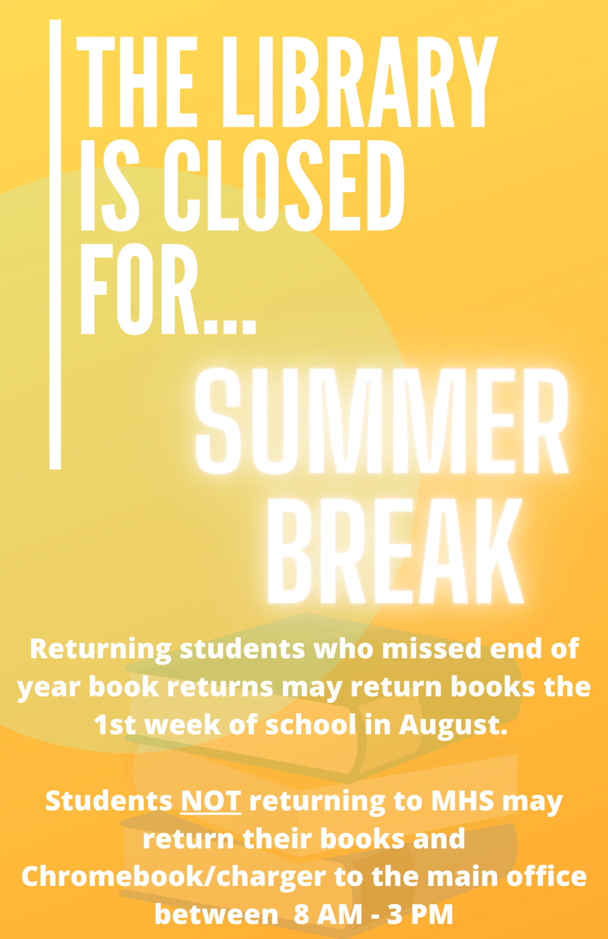 Library is Closed for Summer