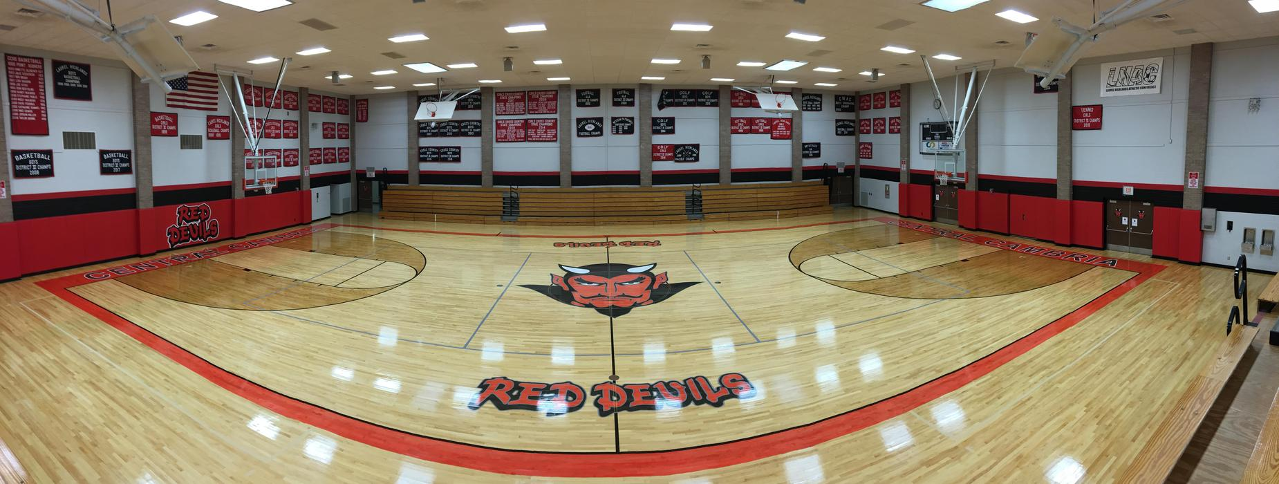 central cambria high school gymnasium