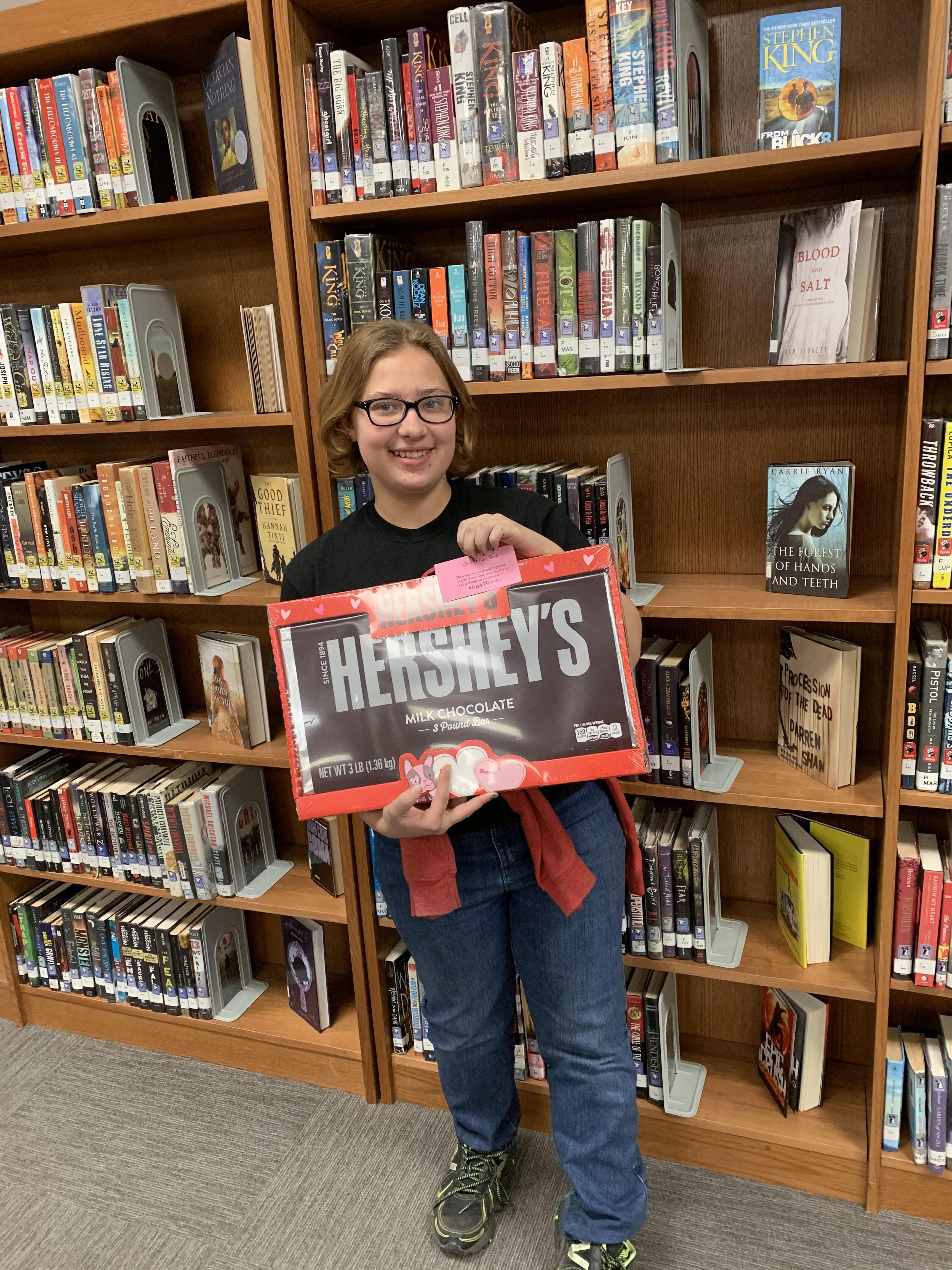 'Love a book' winner