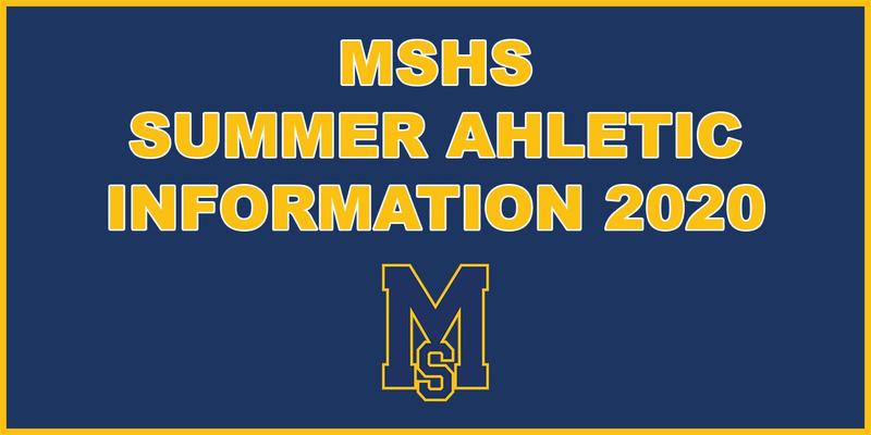 MSHS Summer Athletics Info Featured Photo