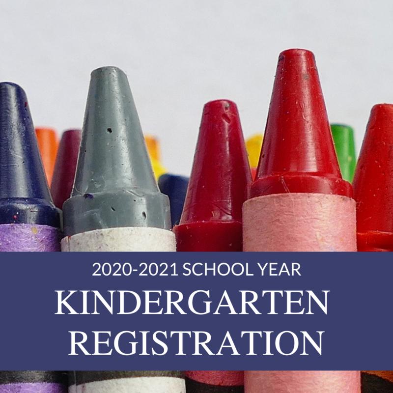 2020-2021 Kindergarten Registration Featured Photo