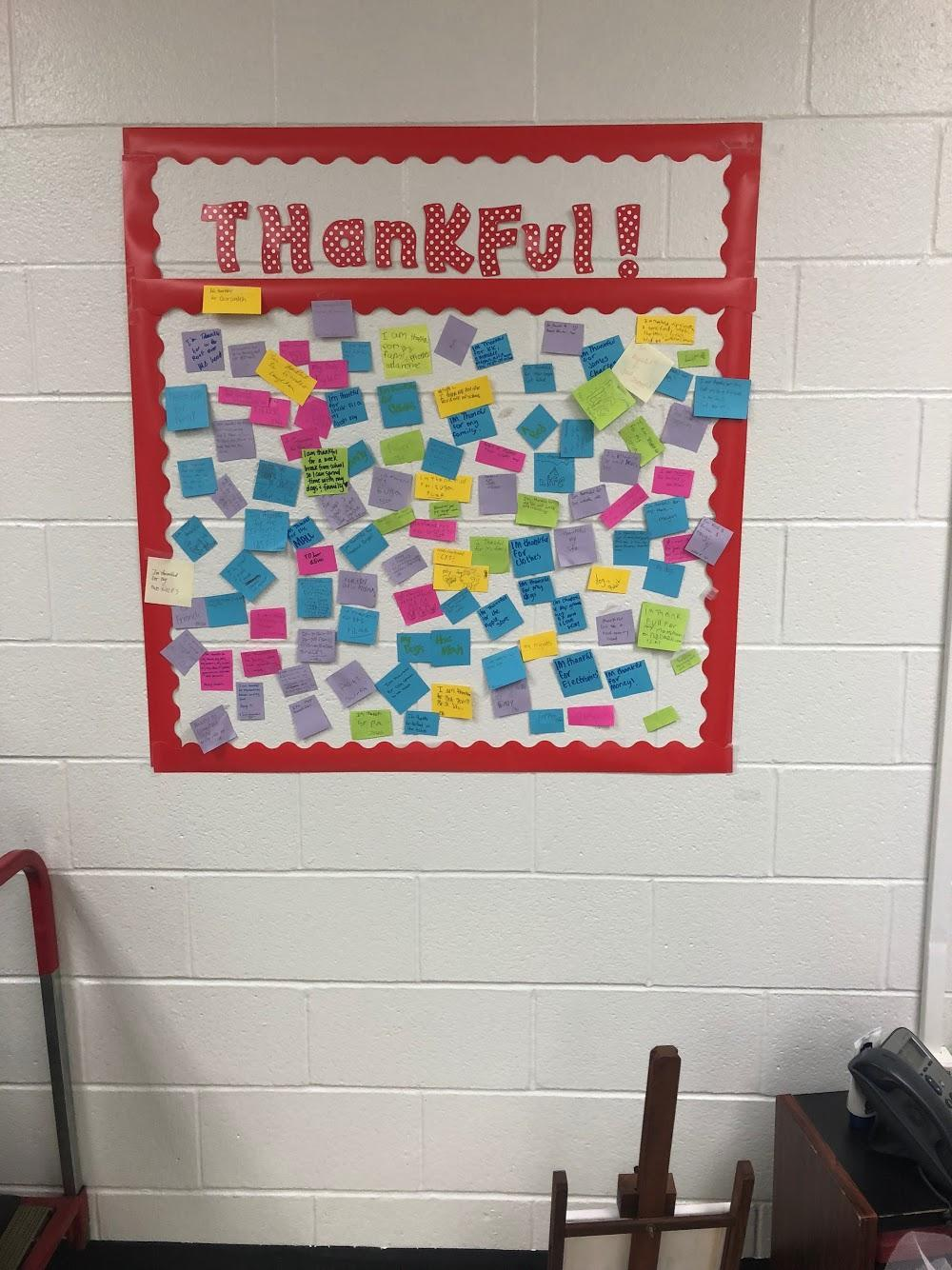 Theatre Thankful Wall