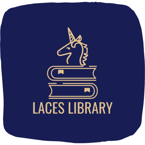 Rounded Edges LACES Library Logo