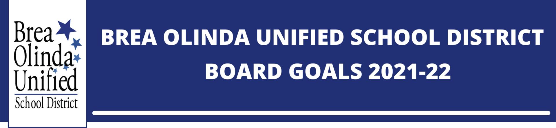 BOUSD Board Goals 2021-22