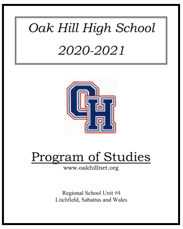 Oak Hill High School Program of Studies 20-21