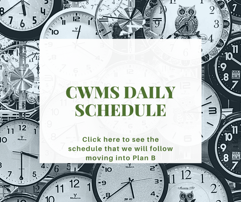 CWMS Daily Schedule Thumbnail Image