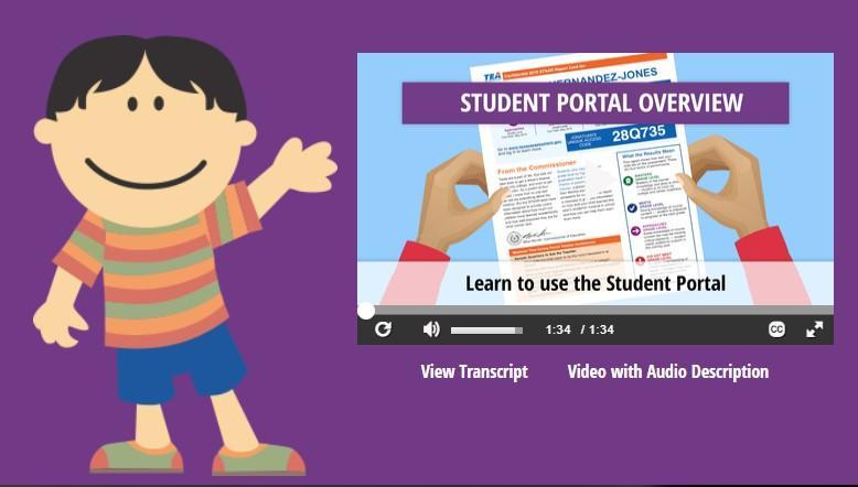 Access more information about your student's test