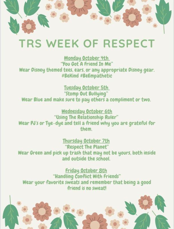 TRS Week of Respect