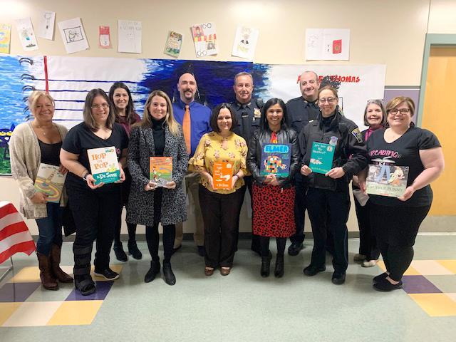 Group photos, guest readers