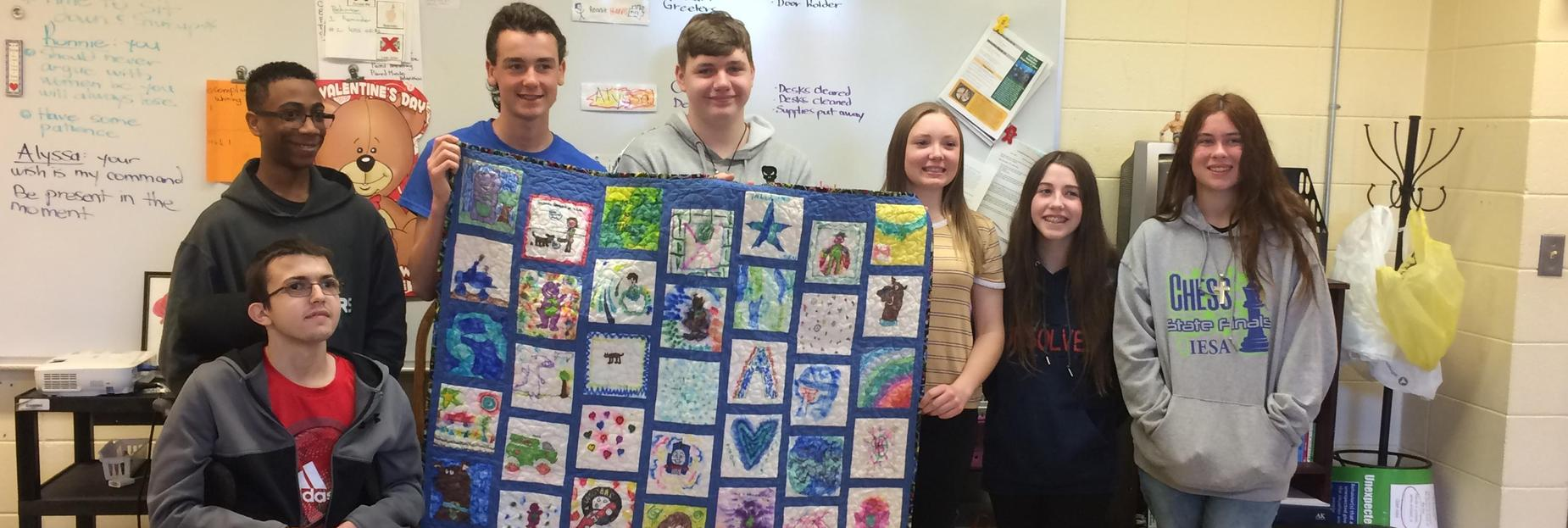 Quilt at CCMS