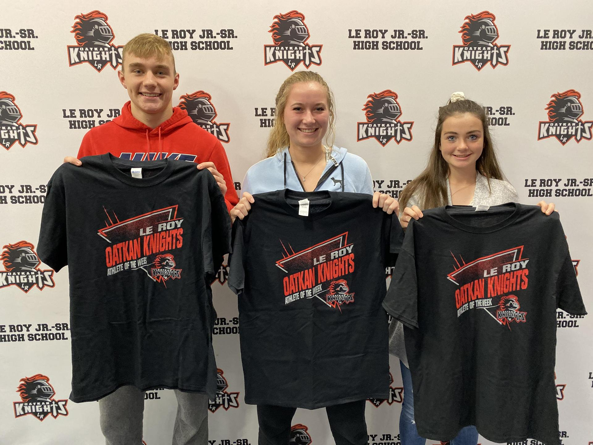 Athletes of the Week - October 14-20