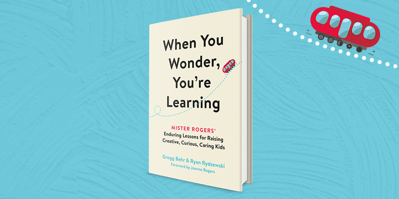 Front cover of book titled, When You Wonder, You're Learning.