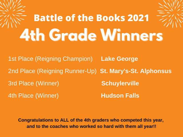 BOTB 4th grade winners