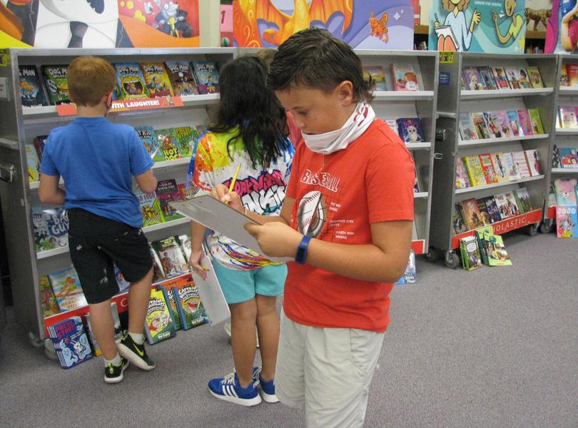 Writing Wish List is a Tradition at Book Fair