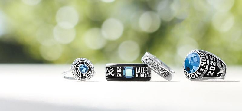 See information by clicking the links on how to order your child's 8th grade ring.