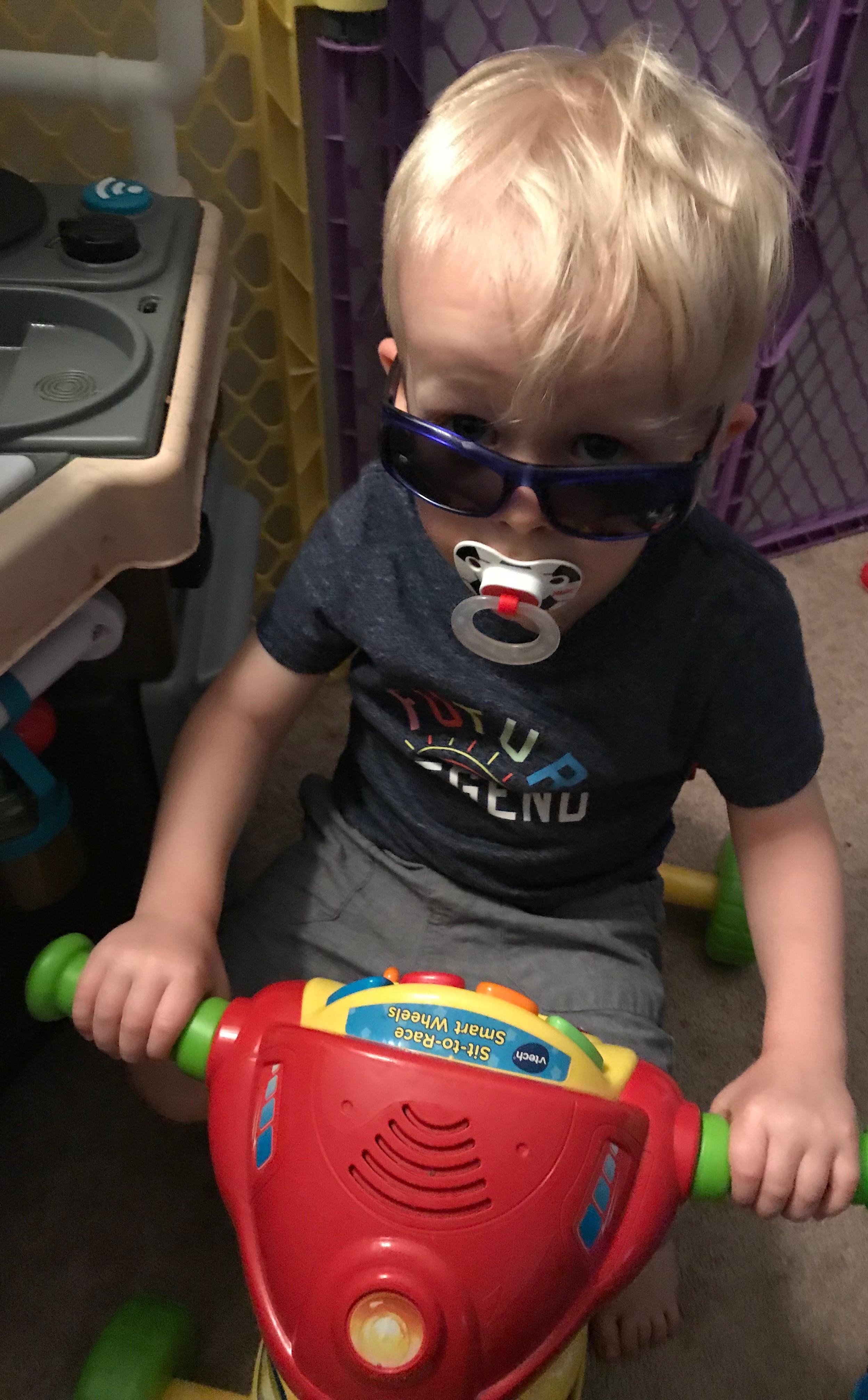 My Mr. Cool Kid!