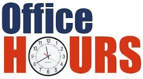 Office Hours Thumbnail Image