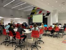 Calculus students present at the Anderson High School Innovation Center - May 26, 2021