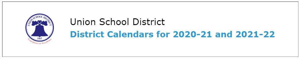District Calendars for 2020 21 and 2021 22 – About Us – Lietz