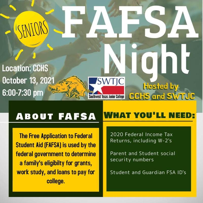 Attention Seniors: Join us for FAFSA Night! Featured Photo