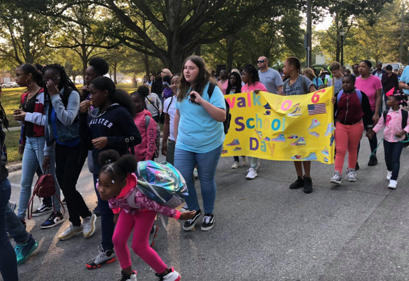 Walk To School Day Featured Photo