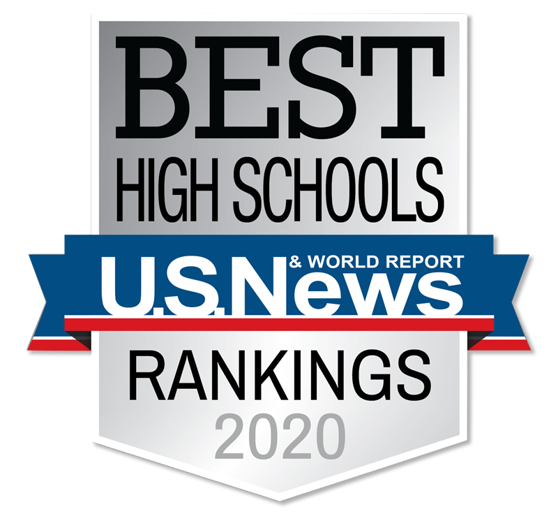 US News Best High Schools 2020 Medallion
