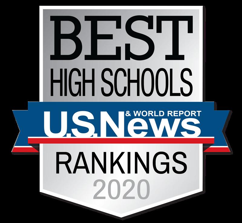 US News Best High Schools 2020 Medallion