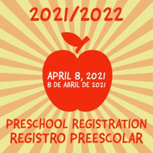 21/22 Preschool Registration Image