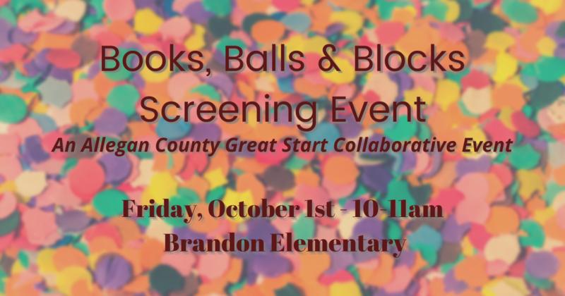 Books, Balls & Blocks - Sept 29 2021