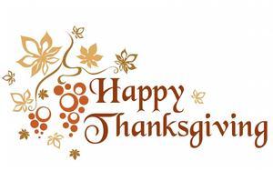 Thanksgiving Break November 25-29