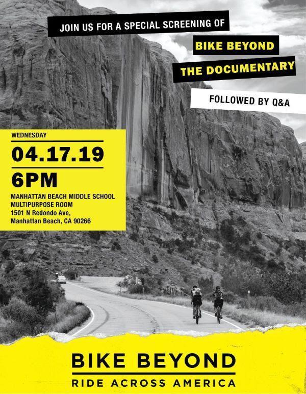 Bike Beyond: The Documentary Movie Screening, 4/17 Thumbnail Image