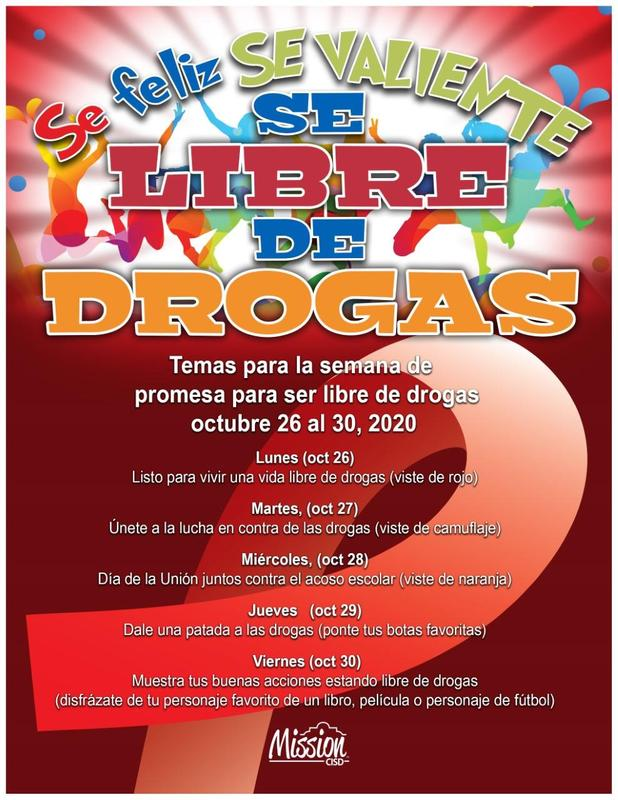 Spanish Red Ribbon Week Themes