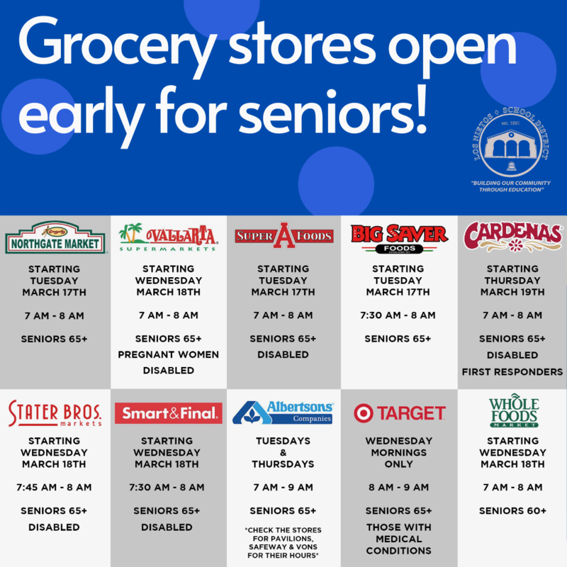 Local Grocery Stores Assist our Seniors Featured Photo