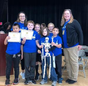 Springdale's Math Bowl team