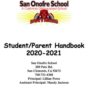 Parent Handbook 2020-21 Featured Photo